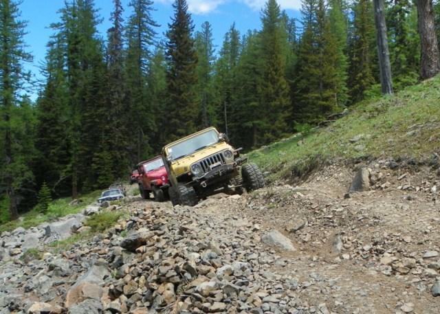 Pacific Northwest 4 Wheel Drive Association's 2011 Trail Jamboree – Day 2 of 5 101