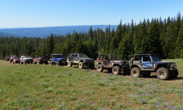 Pacific Northwest 4 Wheel Drive Association's 2011 Trail Jamboree – Day 3 of 5 8