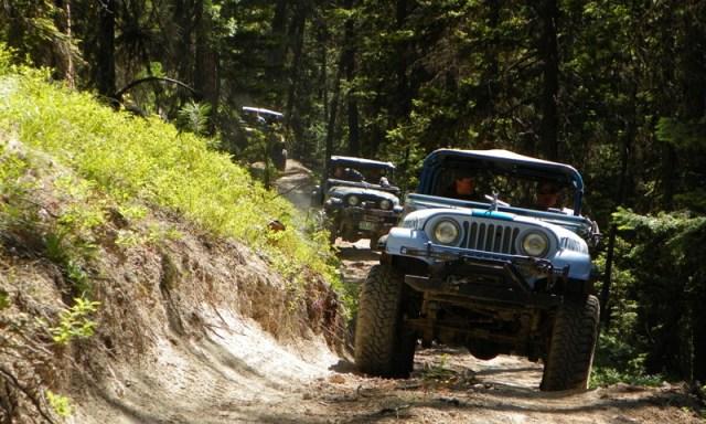 Pacific Northwest 4 Wheel Drive Association's 2011 Trail Jamboree – Day 4 & 5 of 5 12