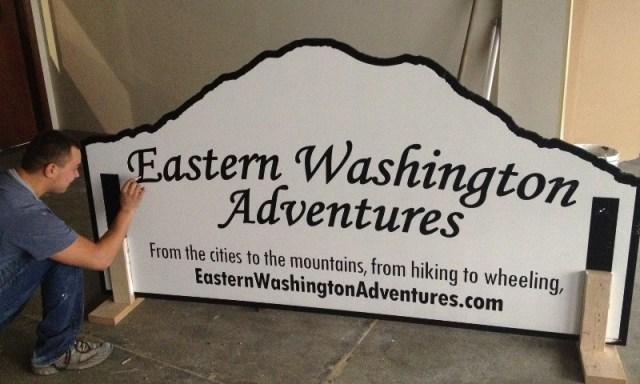 EWA Sign - Thank you Pegasus Northwest! 2