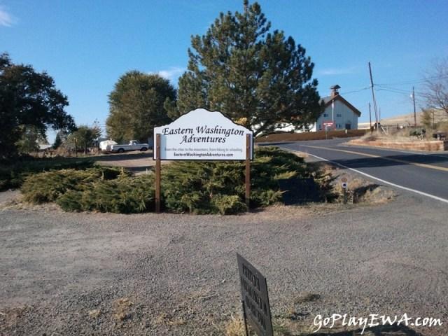 EWA Sign - Thank you Pegasus Northwest! 9