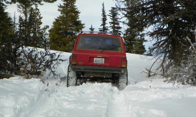 Cowiche: The Search for Deep Snow 55