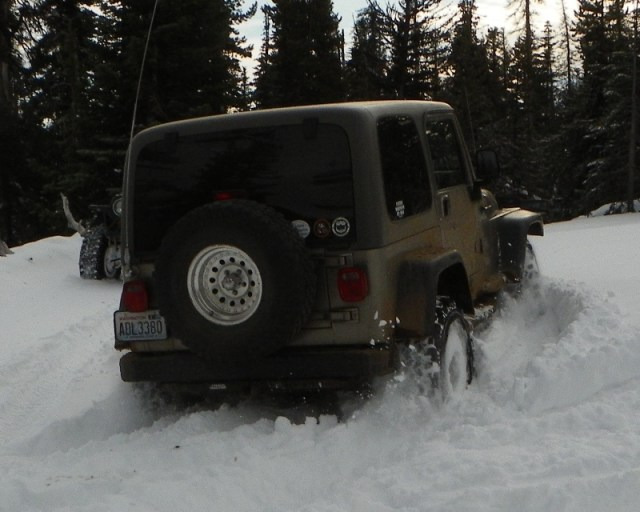Cowiche: The Search for Deep Snow 59