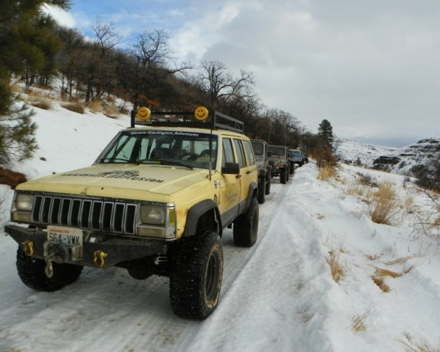Sledding/Snow Wheeling Run at the Ahtanum State Forest 5