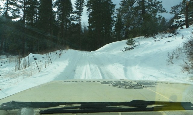 Sledding/Snow Wheeling Run at the Ahtanum State Forest 7