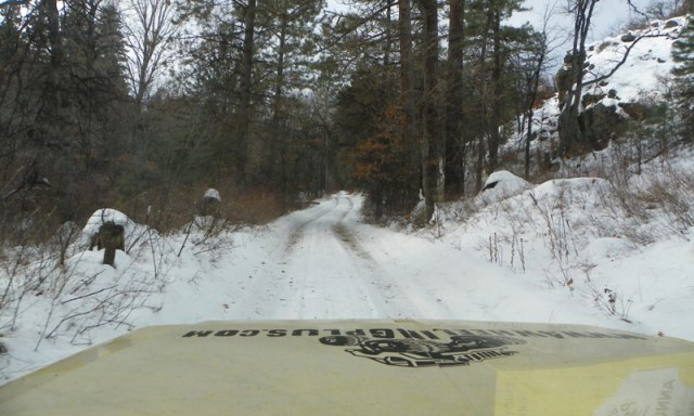 Sledding/Snow Wheeling Run at the Ahtanum State Forest 8