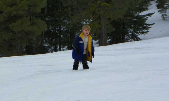 Sledding/Snow Wheeling Run at the Ahtanum State Forest 28