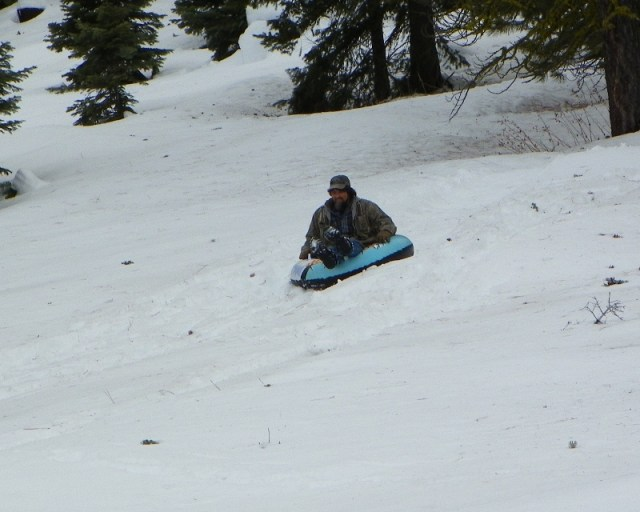 Sledding/Snow Wheeling Run at the Ahtanum State Forest 32