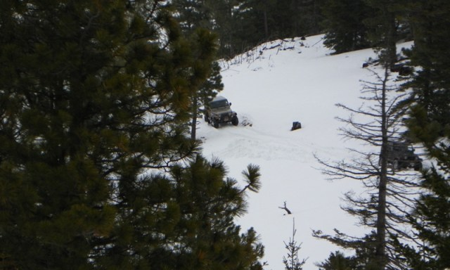 Sledding/Snow Wheeling Run at the Ahtanum State Forest 41