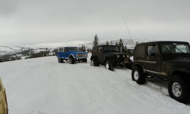 Sledding/Snow Wheeling Run at the Ahtanum State Forest 53