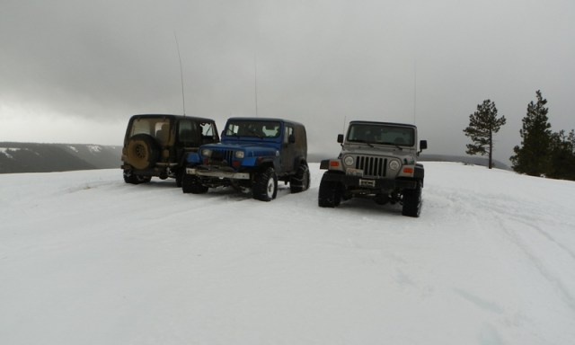 Sledding/Snow Wheeling Run at the Ahtanum State Forest 55