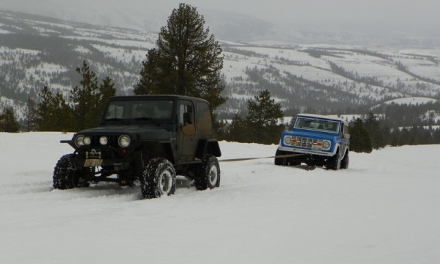 Sledding/Snow Wheeling Run at the Ahtanum State Forest 58