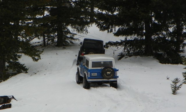 Sledding/Snow Wheeling Run at the Ahtanum State Forest 60