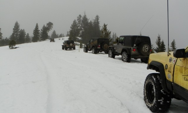 Sledding/Snow Wheeling Run at the Ahtanum State Forest 66