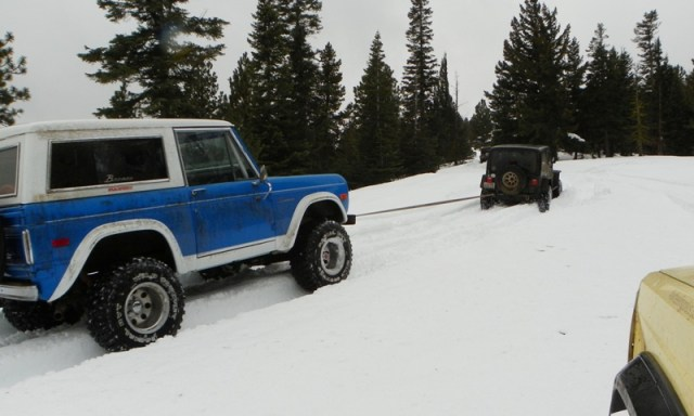 Sledding/Snow Wheeling Run at the Ahtanum State Forest 70