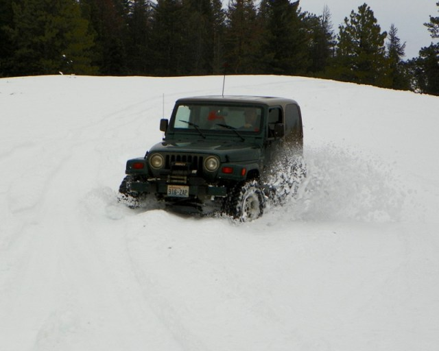 Sledding/Snow Wheeling Run at the Ahtanum State Forest 73