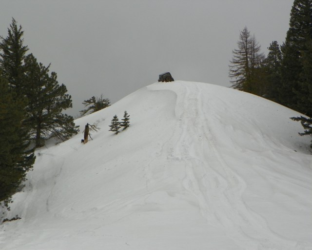 Sledding/Snow Wheeling Run at the Ahtanum State Forest 76