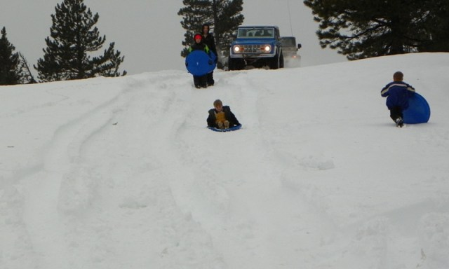 Sledding/Snow Wheeling Run at the Ahtanum State Forest 87