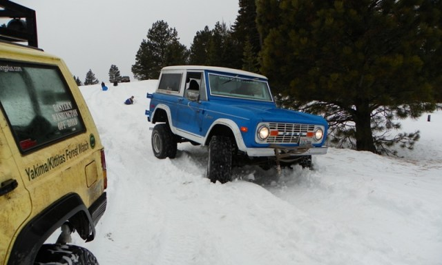 Sledding/Snow Wheeling Run at the Ahtanum State Forest 91
