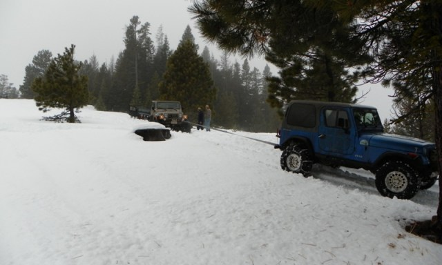 Sledding/Snow Wheeling Run at the Ahtanum State Forest 100