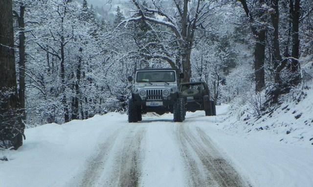Peak Putters Cowiche Ridge Snow Wheeling 3