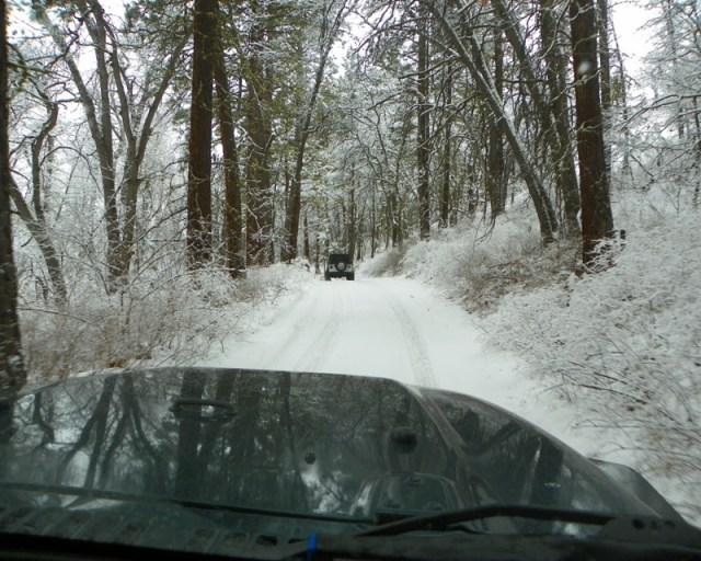 Peak Putters Cowiche Ridge Snow Wheeling 6