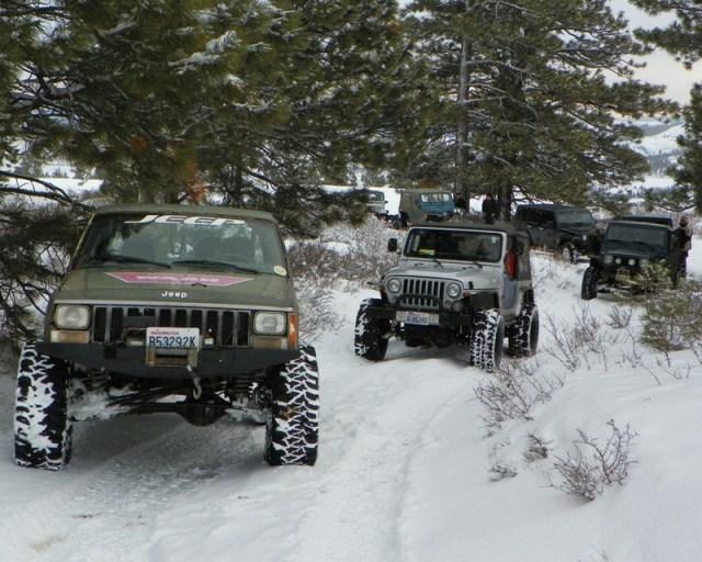 Peak Putters Cowiche Ridge Snow Wheeling 7