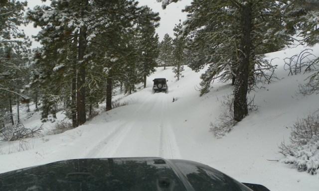 Peak Putters Cowiche Ridge Snow Wheeling 8