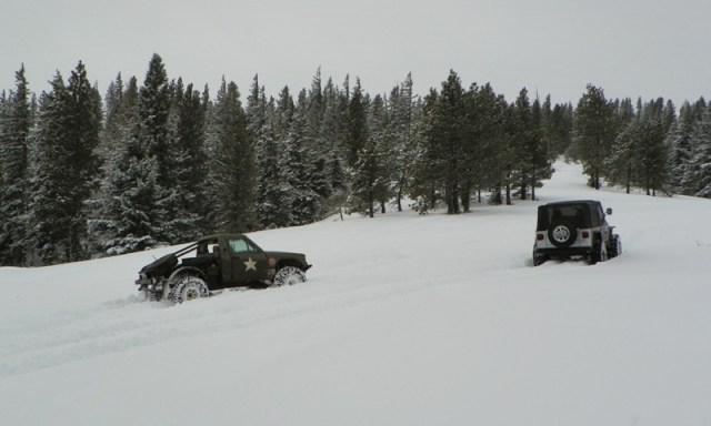 Peak Putters Cowiche Ridge Snow Wheeling 9