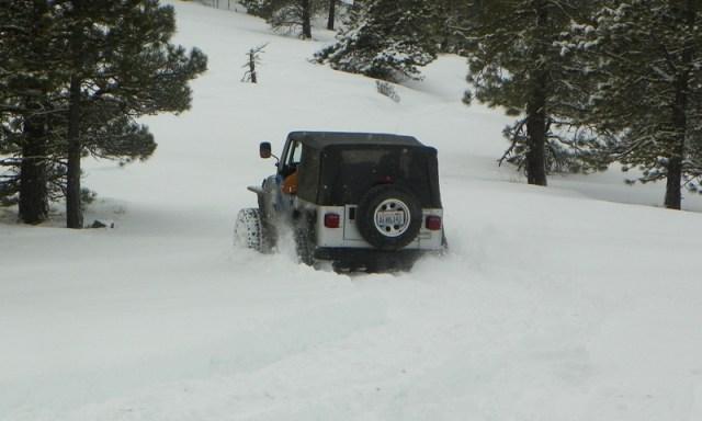 Peak Putters Cowiche Ridge Snow Wheeling 13