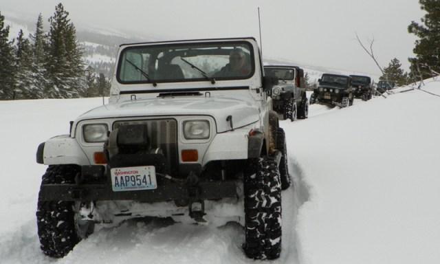 Peak Putters Cowiche Ridge Snow Wheeling 25