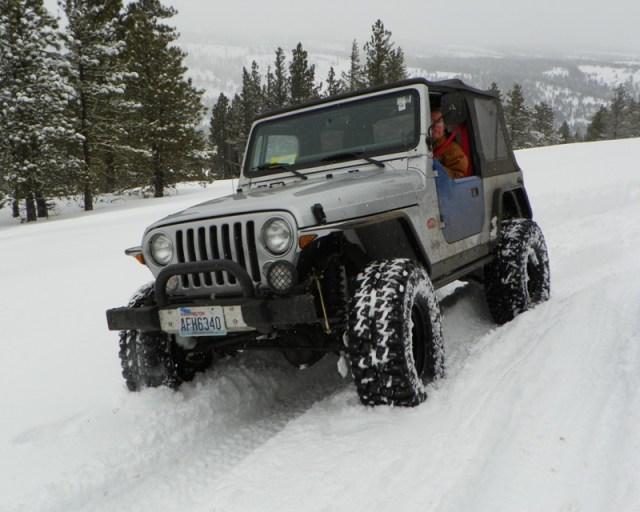 Peak Putters Cowiche Ridge Snow Wheeling 28