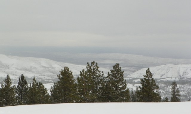 Peak Putters Cowiche Ridge Snow Wheeling 37