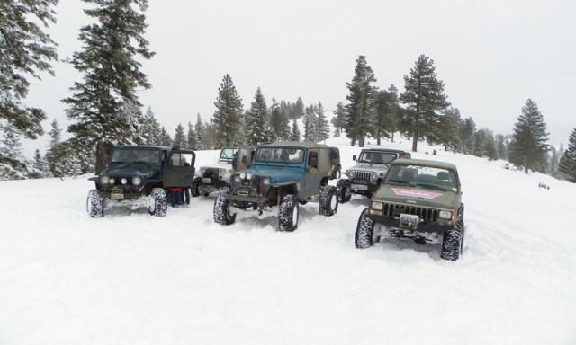 Peak Putters Cowiche Ridge Snow Wheeling 44