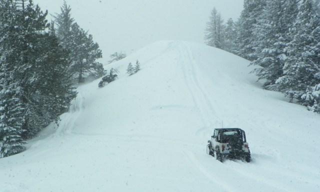 Peak Putters Cowiche Ridge Snow Wheeling 53