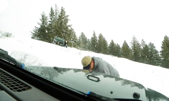 Peak Putters Cowiche Ridge Snow Wheeling 55