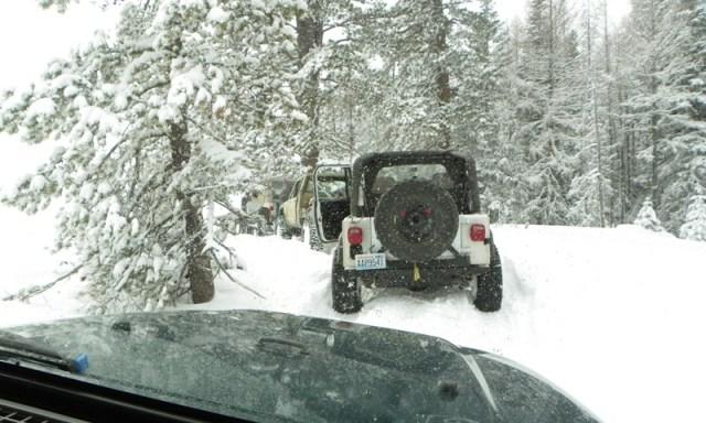 Peak Putters Cowiche Ridge Snow Wheeling 58