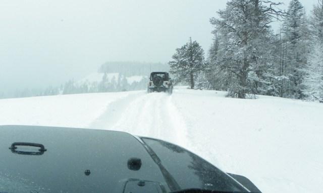 Peak Putters Cowiche Ridge Snow Wheeling 59