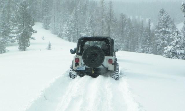 Peak Putters Cowiche Ridge Snow Wheeling 64
