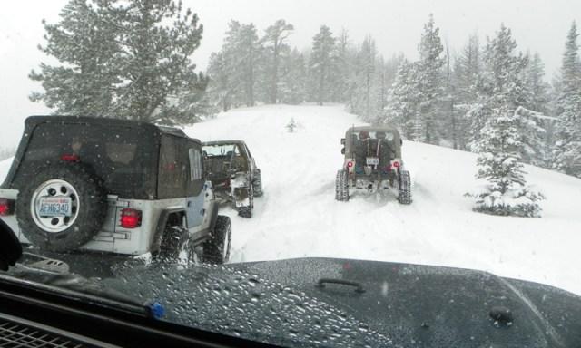 Peak Putters Cowiche Ridge Snow Wheeling 71