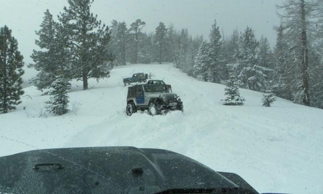 Peak Putters Cowiche Ridge Snow Wheeling 72