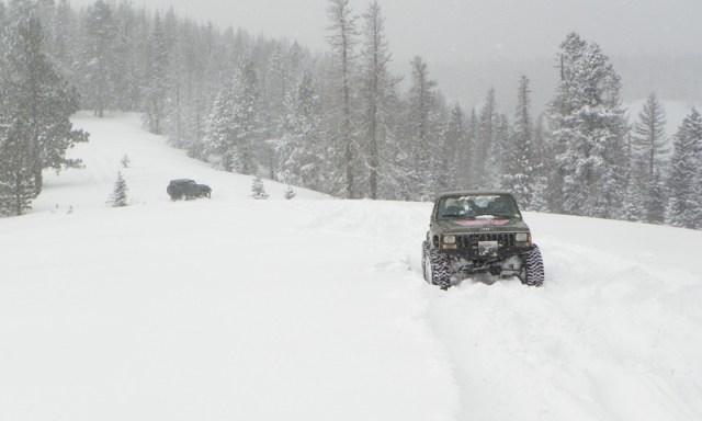 Peak Putters Cowiche Ridge Snow Wheeling 75