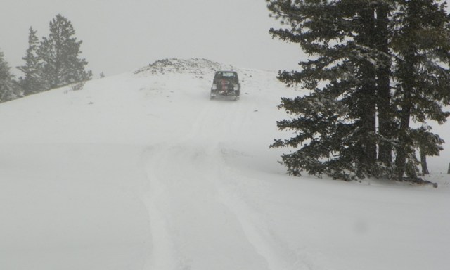 Peak Putters Cowiche Ridge Snow Wheeling 81