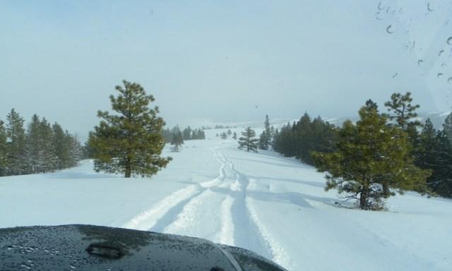 Peak Putters Cowiche Ridge Snow Wheeling 82