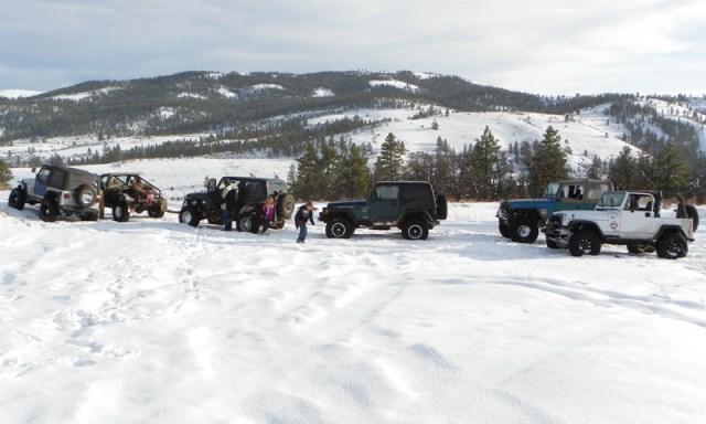 Peak Putters Cowiche Ridge Snow Wheeling 84