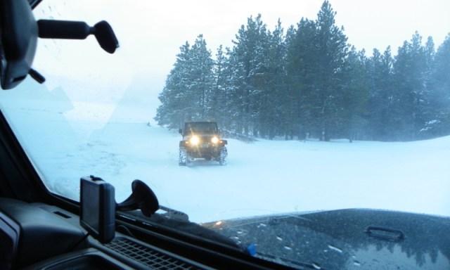 Peak Putters Cowiche Ridge Snow Wheeling 88