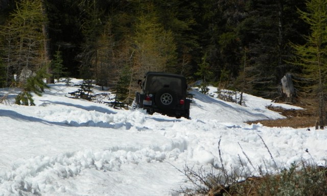 Memorial Day 4×4 Snow Run at the Ahtanum State Forest 10
