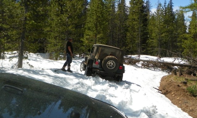 Memorial Day 4×4 Snow Run at the Ahtanum State Forest 17
