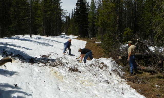 Memorial Day 4×4 Snow Run at the Ahtanum State Forest 23