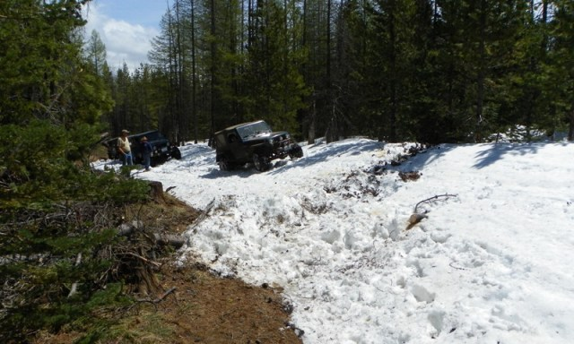 Memorial Day 4×4 Snow Run at the Ahtanum State Forest 24
